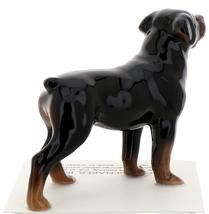 Hagen-Renaker Miniature Ceramic Dog Figurine Rottweiler image 3