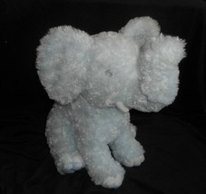 "16"" BIG UNIPAK 2009 BABY GREY ELEPHANT STUFFED ANIMAL PLUSH TOY SOFT LOVEY - $32.73"