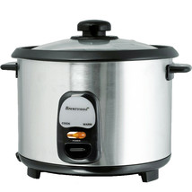 Brentwood 10 Cup Rice Cooker / Non-Stick in Silver - $60.26