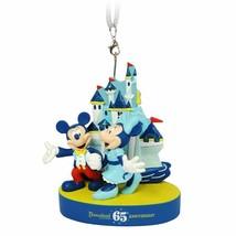 Disneyland 65th Anniversary Figure Ornament, NEW - $36.95