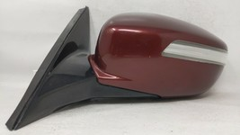 2009-2014 Hyundai Genesis Driver Left Side View Power Door Mirror Maroon 70239 - $166.32