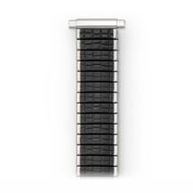 Speidel Men's Stainless Steel Comfortable Stretch Romunda Watch Band, Bl... - $56.38