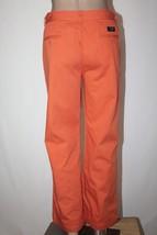 "RALPH LAUREN POLO Women's Size 12 Orange Khaki Classic Chino Pants 28"" Inseam - $28.05"