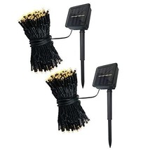 Abba Patio Solar String Lights, 72ft 200LED Outdoor String Lights 8 Mode... - $35.48
