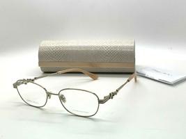 Jimmy Choo Eyeglasses Jc 222/F 35J Pink 53-16-140MM Italy Case& Cloth - $77.28