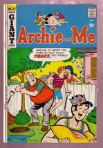 Archie And Me #52 1972 Mr Weatherbee Tree Plant Cover VG/FN - $18.62
