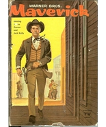 warner bros. maverick by charles coombs 1959 whitman publishing co poker... - $6.99
