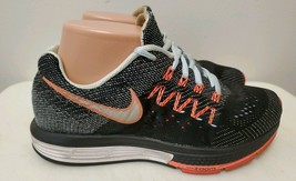 Nike Zoom Black & Pink Lace-Up Low-Top Running Shoe for Women, Size 7 - $23.38