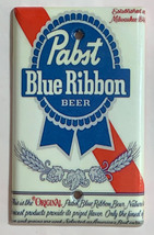 Pabst Blue Ribbon Beer Light Switch Outlet wall Cover Plate Home Decor image 4