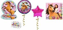 Amsc Spirit Party Pack Horse Plates Napkins and Mylar Balloons Horse Rid... - $24.70