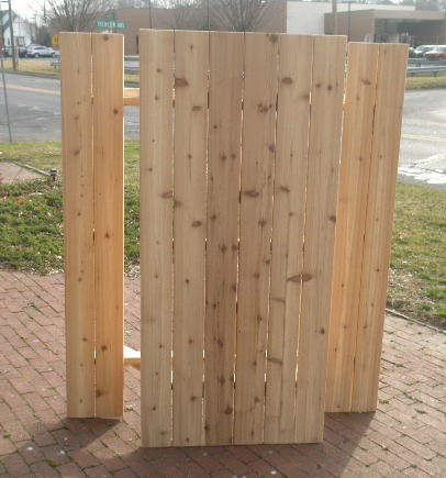 Picnic Table 6 foot cedar. built to last, south New Jersey area