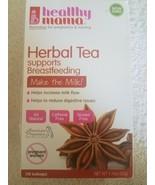 Healthy Mama Herbal Tea Supports Breastfeeding Milk Flow 16 CT - $21.66