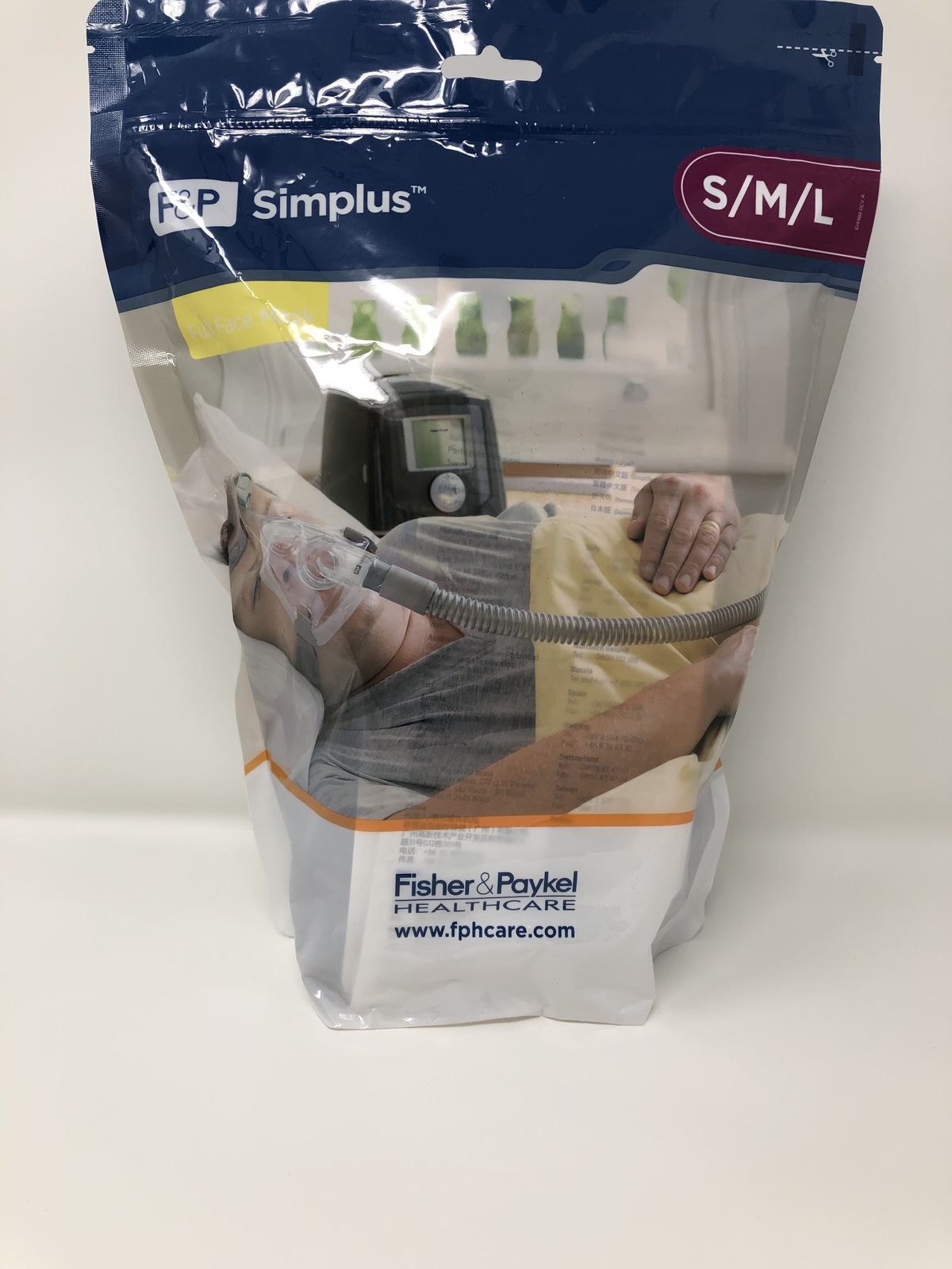 Fisher Paykel Simplus Full Face Cpap Mask And 33 Similar Items