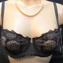 Simone Perele Black sheer Adeliade Bra 30E NEW - $24.99