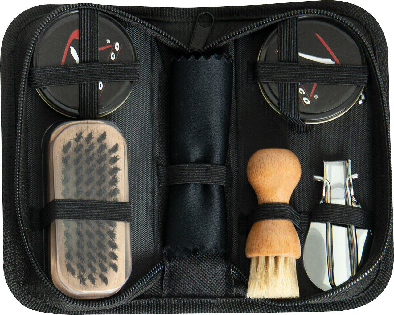 Primary image for Compact Shoe Care Kit - Clean Fix Enhance Polish Uniform Shoes Boots Set