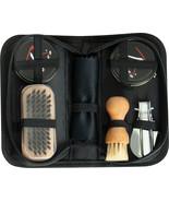 Compact Shoe Care Kit - Clean Fix Enhance Polish Uniform Shoes Boots Set - $13.99