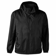 Maximos Men's Water Resistant Hooded Lightweight Windbreaker Rain Jacket Jasper image 2