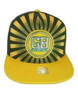 Green Bay Men's Striped Cotton Patch Style Adjustable Snapback Baseball ... - $13.95