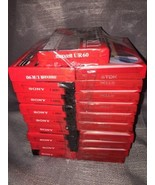 NEW - SEALED Lot Of 20 Audio Cassettes 60 Minutes Sony TDK Maxell - $56.09