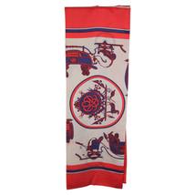 Authentic HERMES PARIS Vintage Silk Oblong Scarf EXx Libris Grygkar 1946 - $267.30