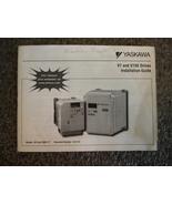 Yaskawa V7 and V74X Drives Installation Guide - $2.00