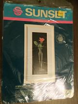 """A Single Rose"" Counted Cross Stitch Kit #13521 - Sunset - 6"" X 16"" - $14.80"
