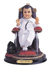 "8.5"" Inch Child Doctor Niño Nino Statue Figurine Figure Religious - $43.00"