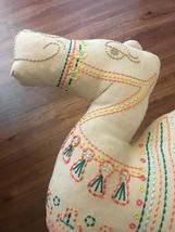 CAMEL Shaped PILLOWFORT Throw Pillow Camel boho Desert Home Decor Bedding NEW image 3