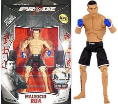 An item in the Sports Mem, Cards & Fan Shop category: Mauricio Rua Pride 33 UFC action figure NIB JAKKS Pacific Series 3 NIP Brazil