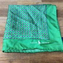 $95.00 Polo Ralph Lauren 100% Silk Pocket Square Handmade Italy - $44.54