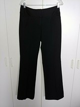 "EXPRESS ""EDITOR"" LADIES BLACK DRESS PANTS-4R-POLY/VISCOSE/SPANDEX-BARELY... - $9.99"