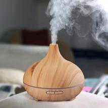 Natural Wood Grain Electric Aroma Diffuser - $764,73 MXN