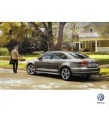2013 Volkswagen PASSAT brochure catalog US 13 VW SE SEL TDI V6 Premium - $8.00