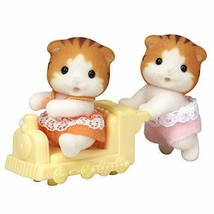 *Twins of Sylvanian Families maple cat - $9.88