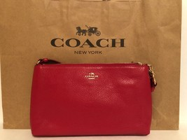 COACH F12185 PEABLE CLUTCH 100% AUTHENTIC - £66.58 GBP