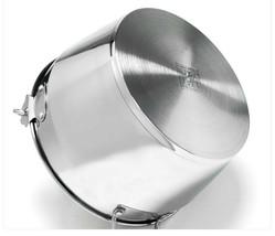KichenArt Stainless Steel Induction Jam Pot Bucket Multipot Basket 9L (No Lid) image 2