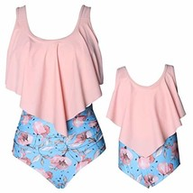 Baby Gril Swimsuits Mommy and Me Bathing Suits Family Matching Two Piece... - $16.93