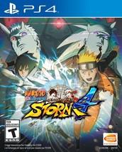 Naruto Shippuden: Ultimate Ninja Storm 4  PlayStation 4 NEW - $59.39