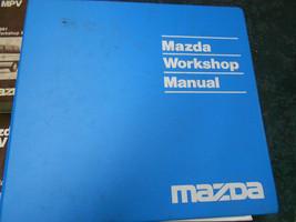 1991 Mazda MPV Furgoneta Servicio Tienda Reparación Manual 91 Fábrica Libros - $19.59