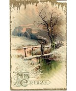 A Merry Christmas To You John Winsch Vintage 1912 Post Card - $6.00