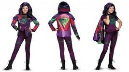 Disguise Disney Descendants Mal Prestige Girls Child Halloween Costume 1... - $109.99