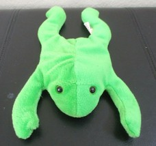Ty Beanie Baby Legs The Frog PVC Filled NO HANG TAG - $9.89