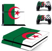 Algeria Flag TR Logo Flag PS4 Designer Skin for Sony PlayStation 4 - $19.00