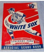 Chicago White Sox Baseball Official Score Book 1950 Comiskey Park - $39.00