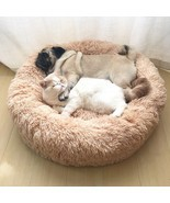 Dog Bed Sofa Round Plush Mat For Dogs Large Labradors Cat - $15.87+