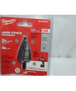 Milwaukee 48899212 Step Drill Bit Jam Free Performance - $73.10