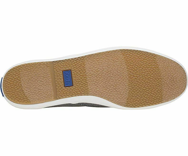 Keds WF58939 Women's Shoes Champion Matte Brushed Metallic Blue, 9 Med