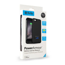 BuQu Tech PowerArmour Battery Case for iPhone 6 - Retail Packaging - Black - £27.01 GBP