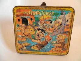 Vintage 1964 Flintstones Metal Lunchbox Canada - $49.99
