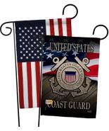 US Coast Guard - Impressions Decorative USA - Applique Garden Flags Pack... - $34.97